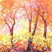 Dappled Sunlight (#421) 24 x 36 Oil on canvas SOLD