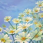 Fresh as a Daisy, (ID#302) 16 x 20 acrylic on canvas. SOLD