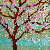 Full Bloom, (ID#417) 20 x 24 Acrylic on canvas board - Framed. SOLD