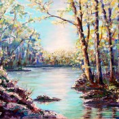 Springtime, (ID#402) 24 x 36 oil on canvas