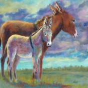The Yearling (ID# 217) 24 x24 Oil over Acrylic on canvas